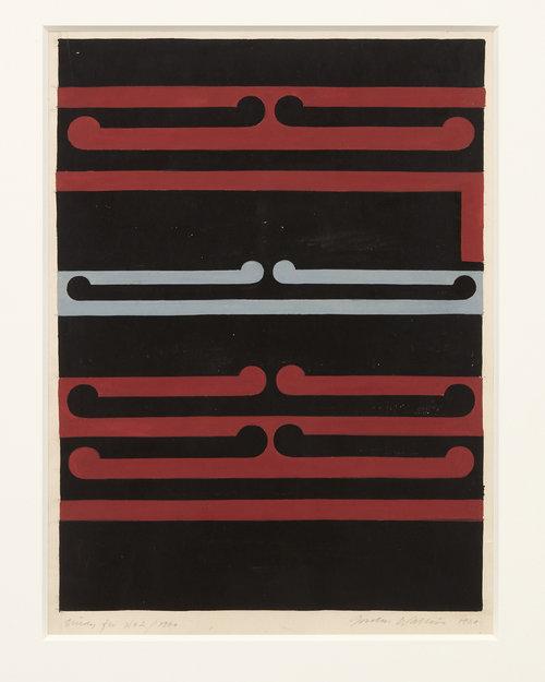 d616e652ad5ba Gordon Walters, Study for No.2/Tirangi, 1979, image size 250 c 200 mm,  courtesy; of the Walters Estate