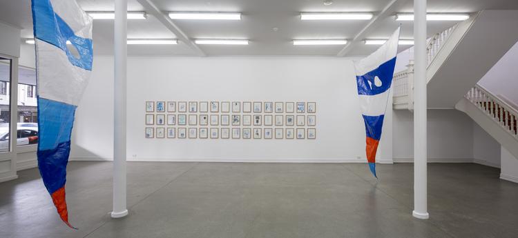 Laith McGregor,  SOMEWHERE ANYWHERE ,  installation view, Starkwhite, 2015