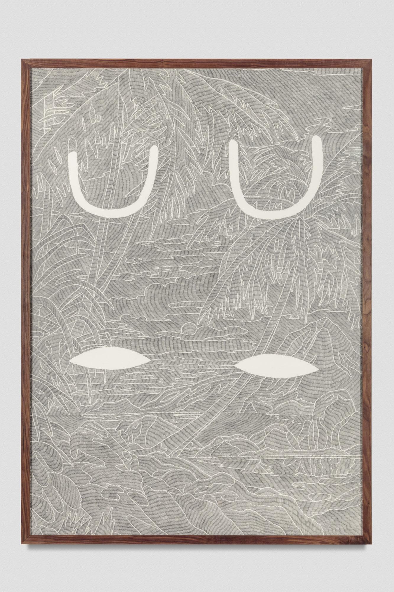 Laith McGregor,  Hopeful , 2017, pencil on paper ,2030 x 1530 mm