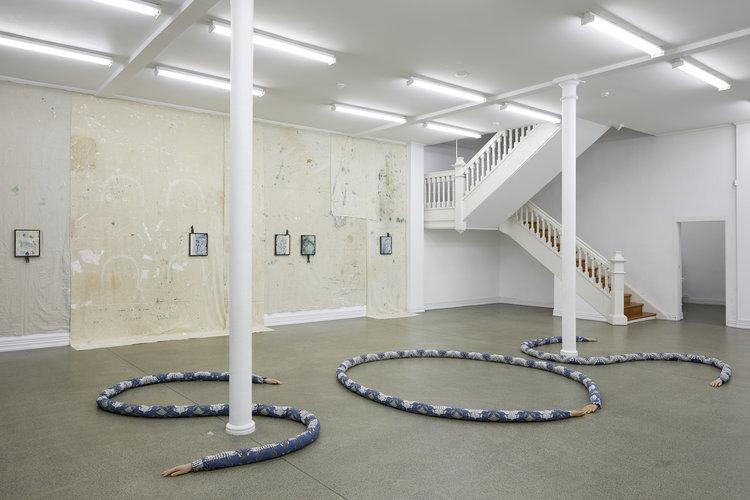 Laith McGregor,  AM/PM/AM , installation view , Starkwhite, 2019