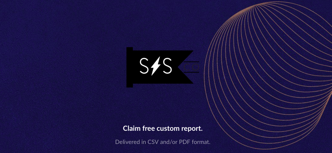 Get free custom report