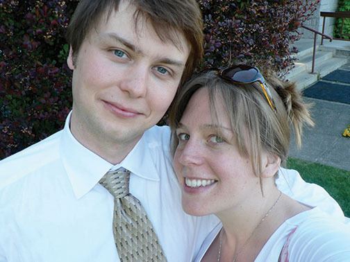 Ryan Slifka, and his wife Cheyenne.