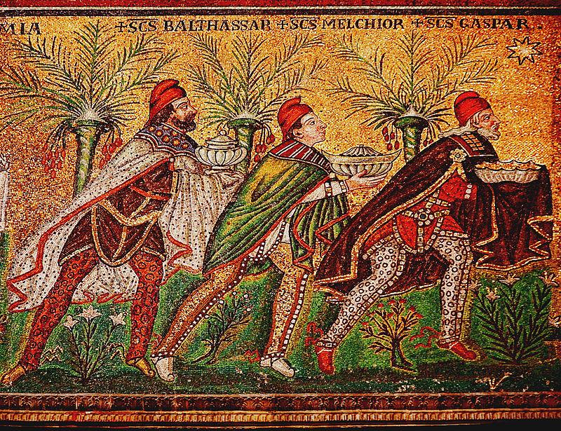 Byzantine Mosaic,  ca. 565.