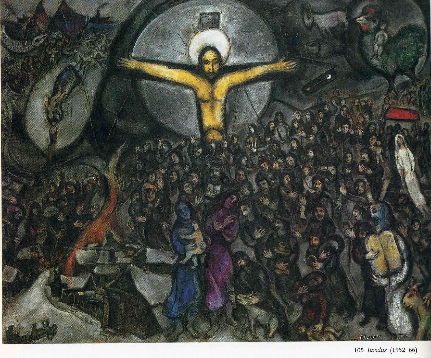 "Marc Chagall, ""Exodus,"" 1966"