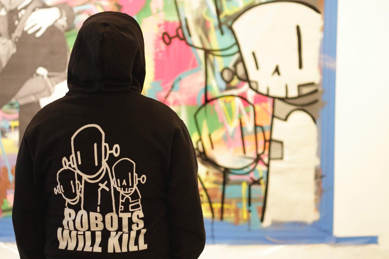 ewkuks chrisrwk hoodie large painting