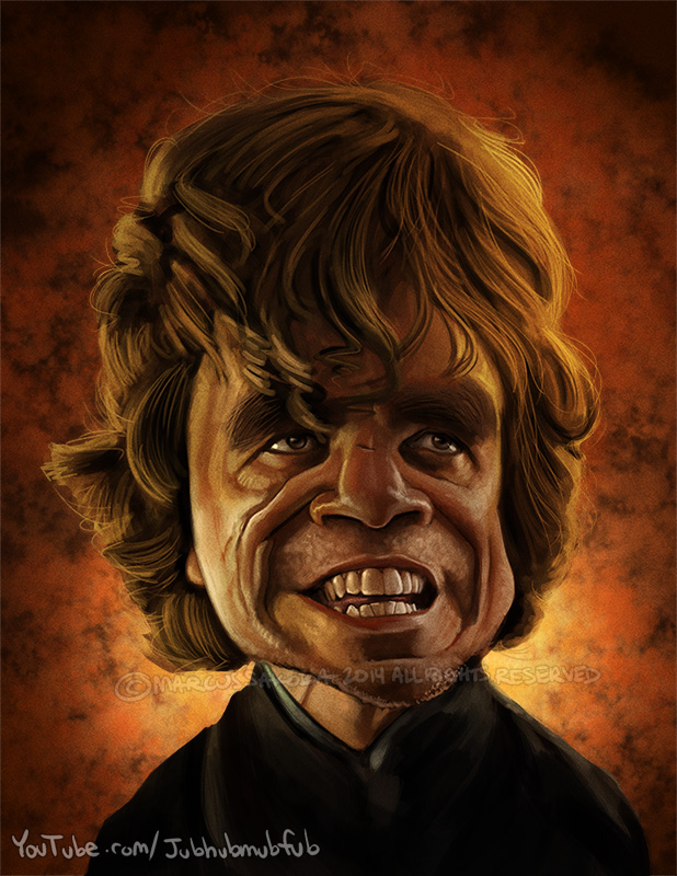 Tyrion Lannistor aka Peter Dinklage, 2014