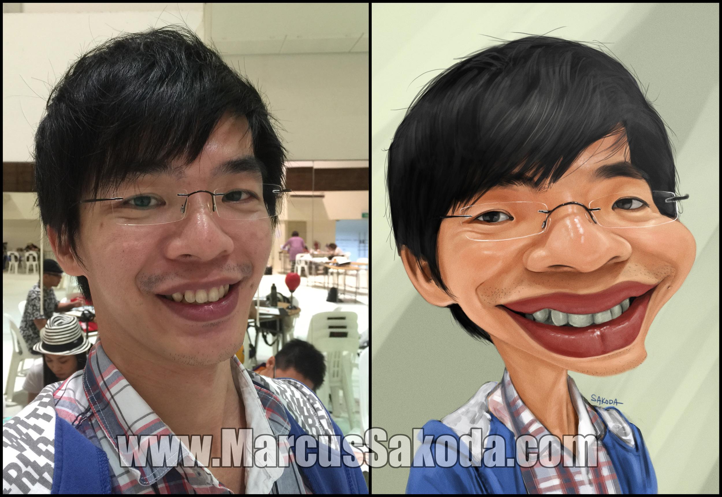 Triton Lim from  Malaysia