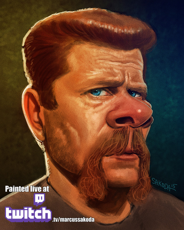 Abraham Caricature
