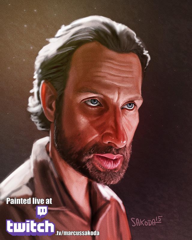 Rick Caricature
