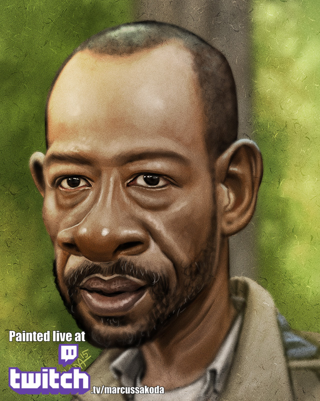 Morgan Caricature