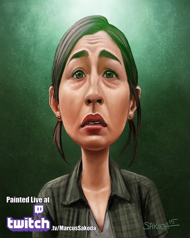 Tara Caricature