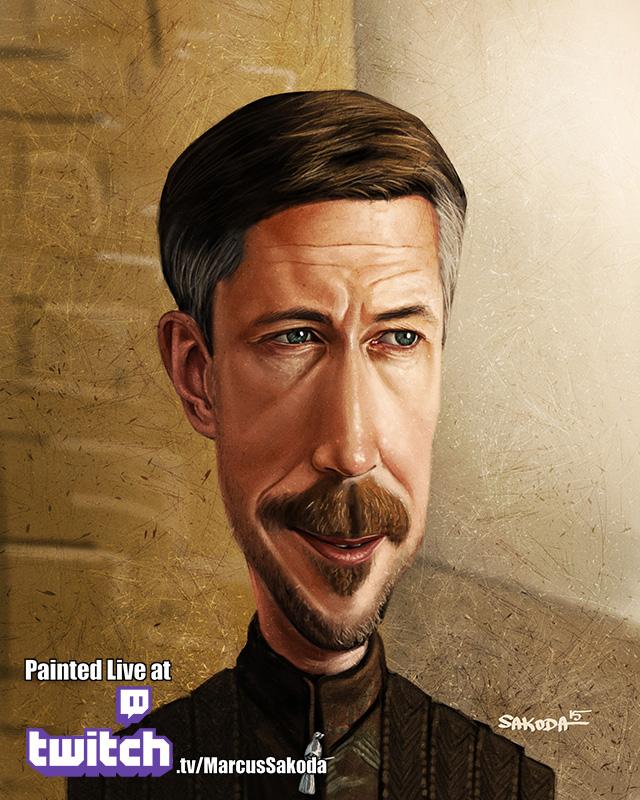 Petyr Baelish Caricature