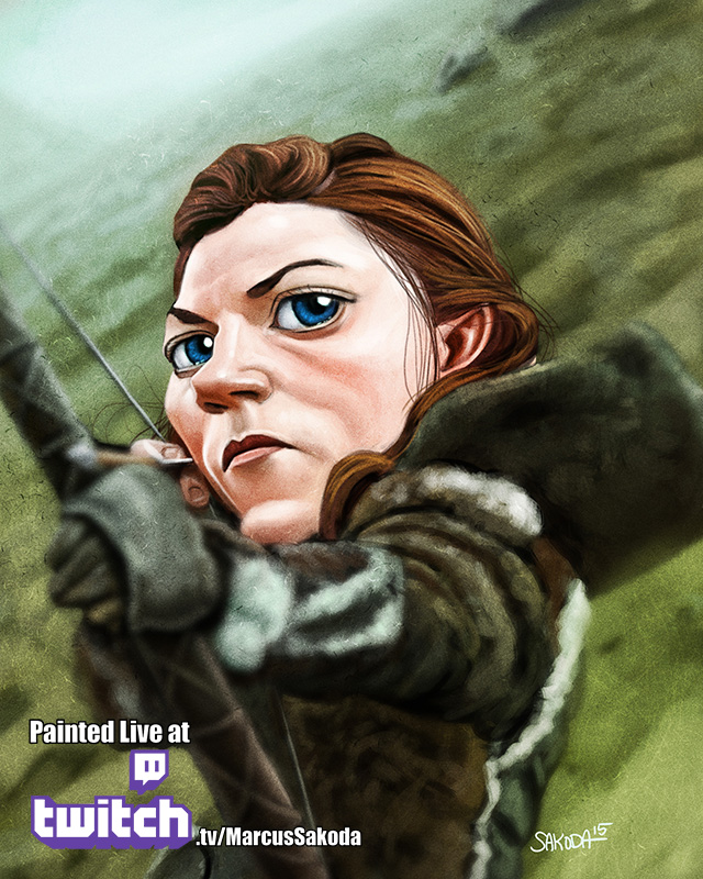 Ygritte Caricature