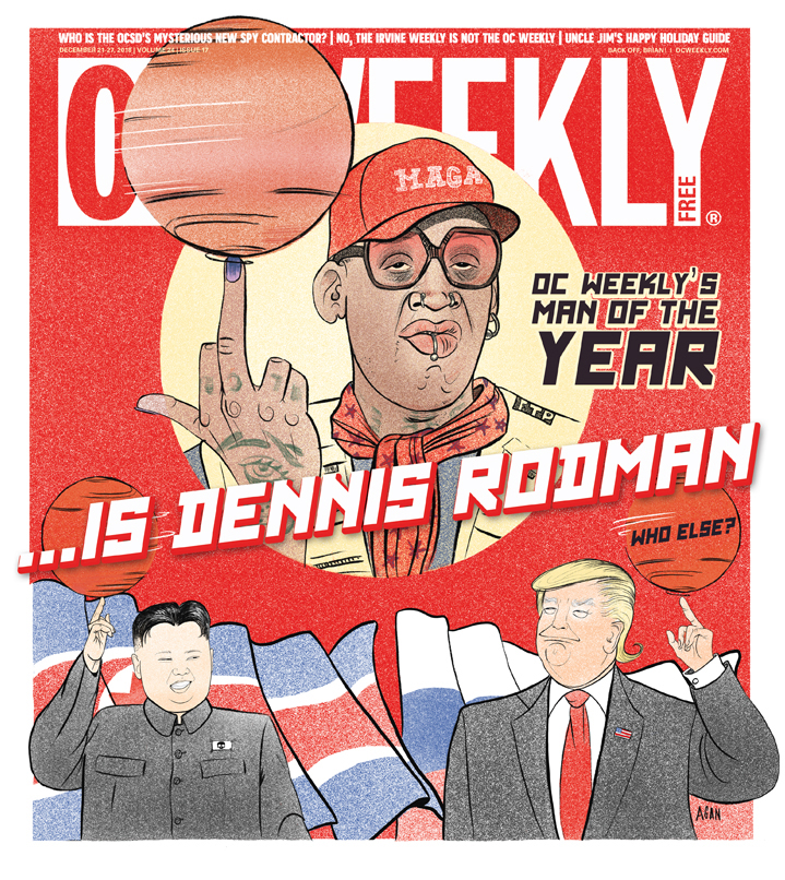 OC Weekly's   Man Of The Year