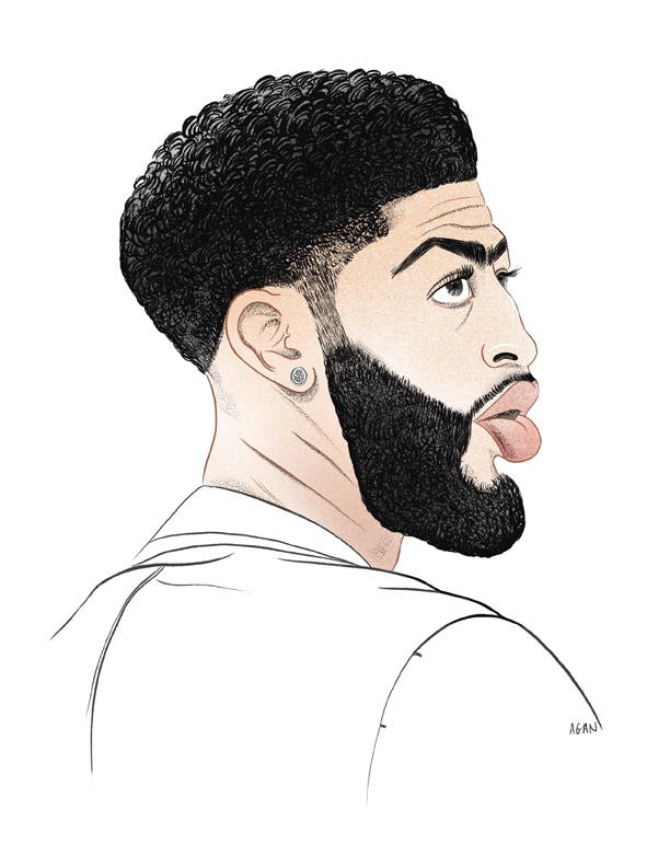 "Anthony Davis a.k.a. ""The Brow"""