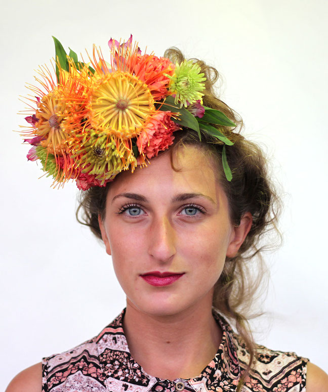 Frida Kahlo Floral Crown Workshop at Paiko