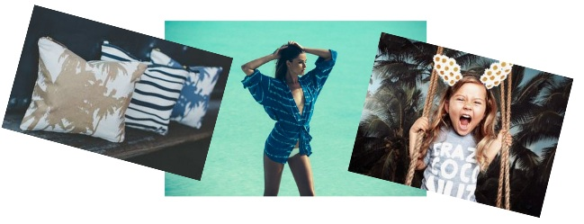 Alola Maui, ACACIA Swimwear and Oopsy Daze kids, available at The Lucky Honey Pop-Up