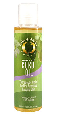 OILS OF ALOHA ORGANIC KUKUI OIL