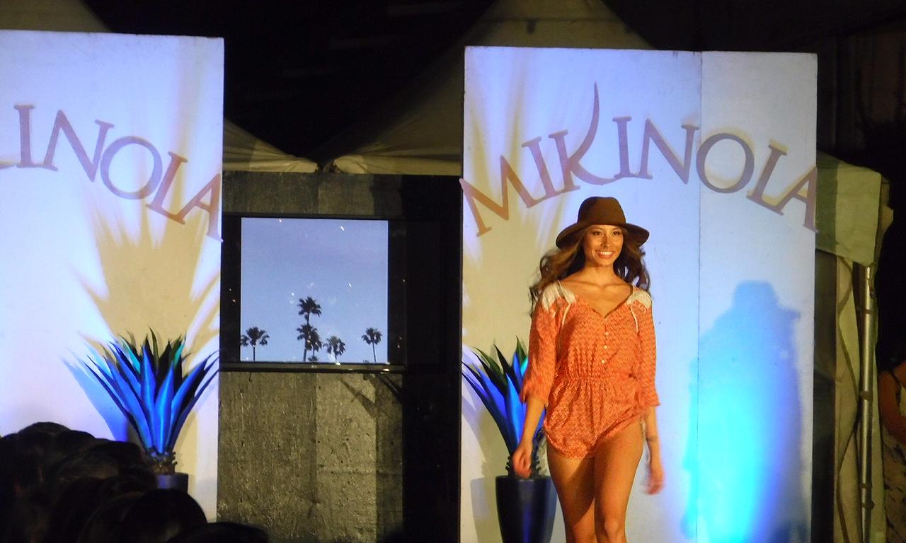 Mikinola's summer runway show at Honolulu Night Market // TheEditHawaii.com