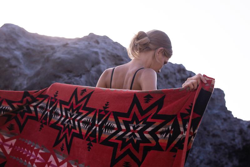 Pendelton Towel at Nuage Bleu .jpg