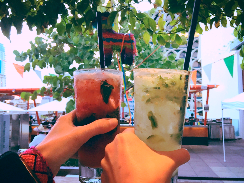 Cheers at Buho Cantina's Cinco de Buho // TheEditHawaii.com