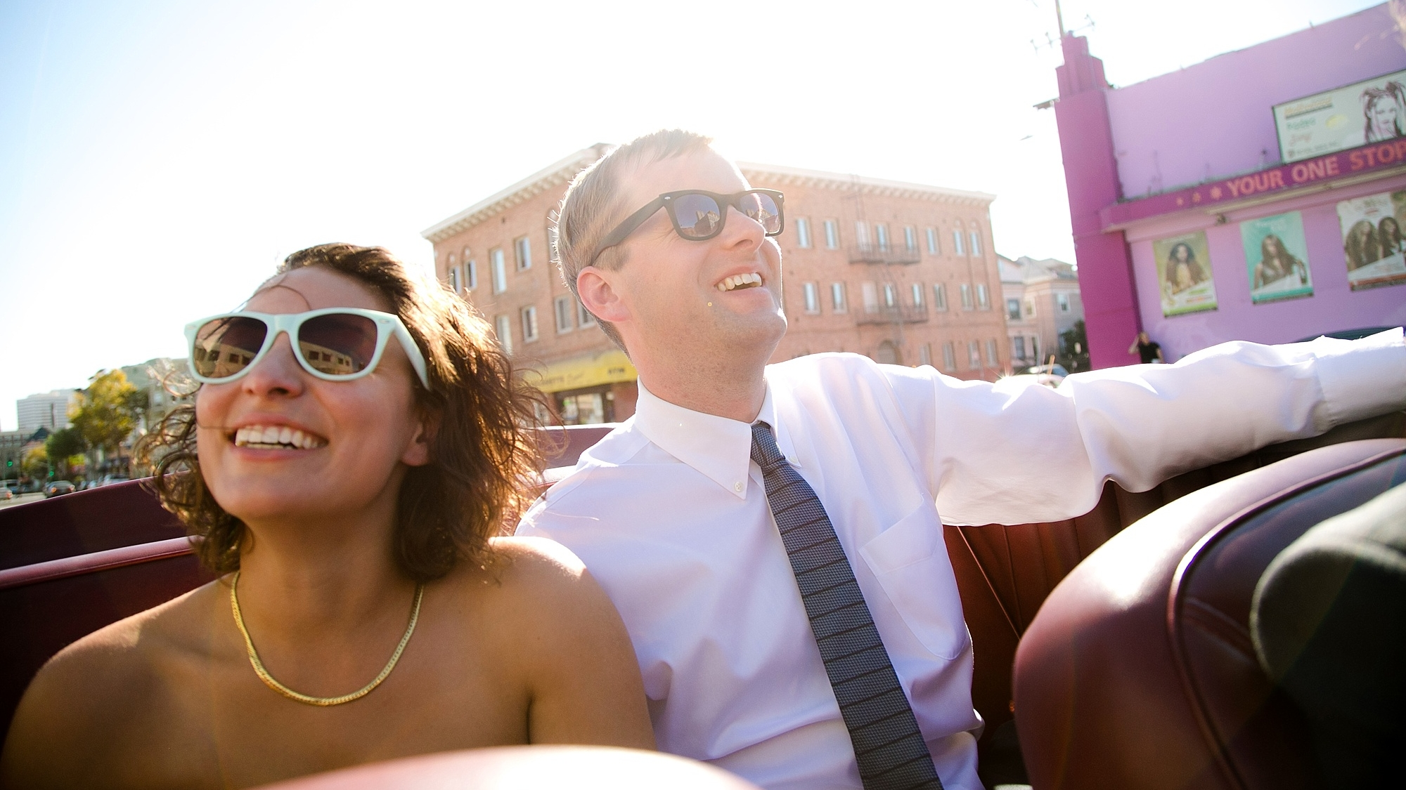 convertible-wedding-portrait