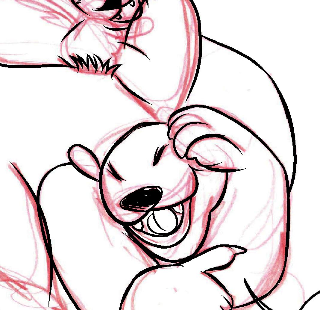 Step 2 of my bears in progress