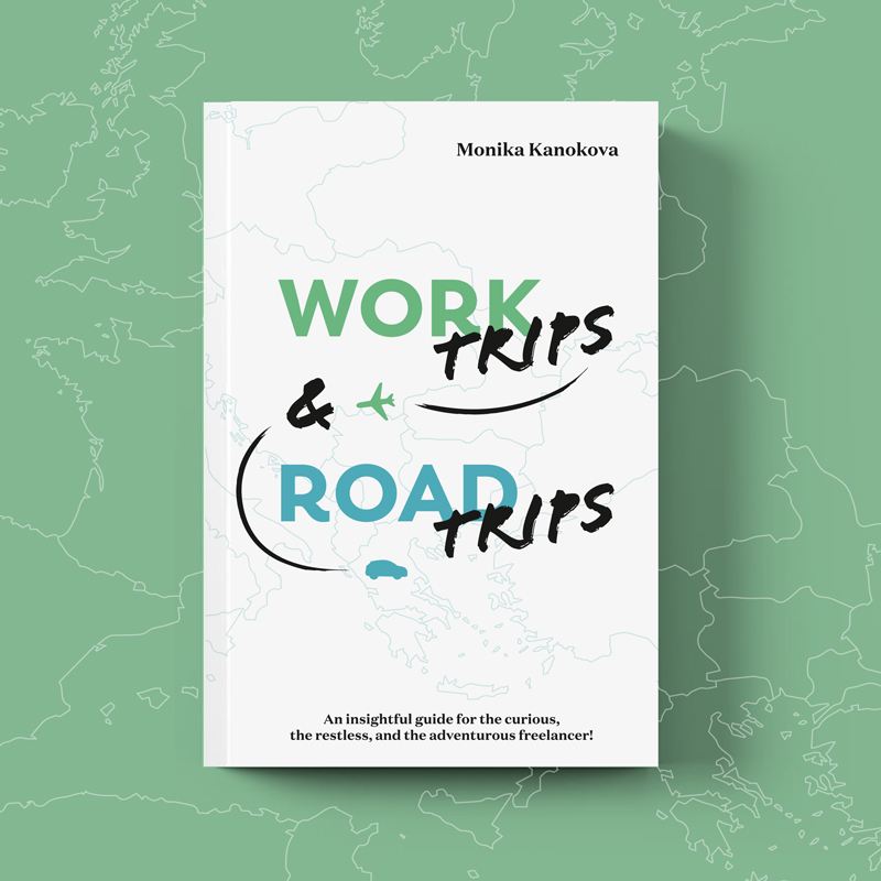 Work Trips and Road Trips - An exploration of what it means to be a fulfilled, creative freelancer. A book about wanderlust, remote work, and taking time off as a freelancer. The perfect read for adventurous freelancers who tempt to feel restless at times.