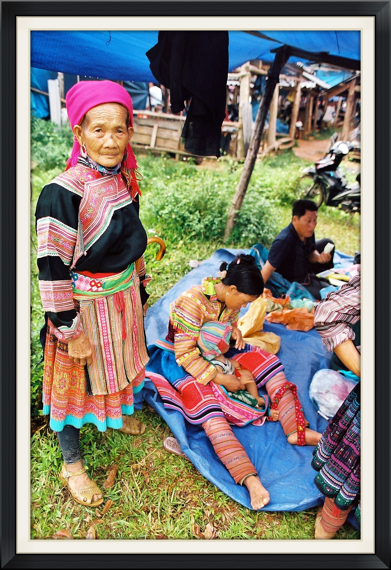 Flower Hmong Hill Tribes