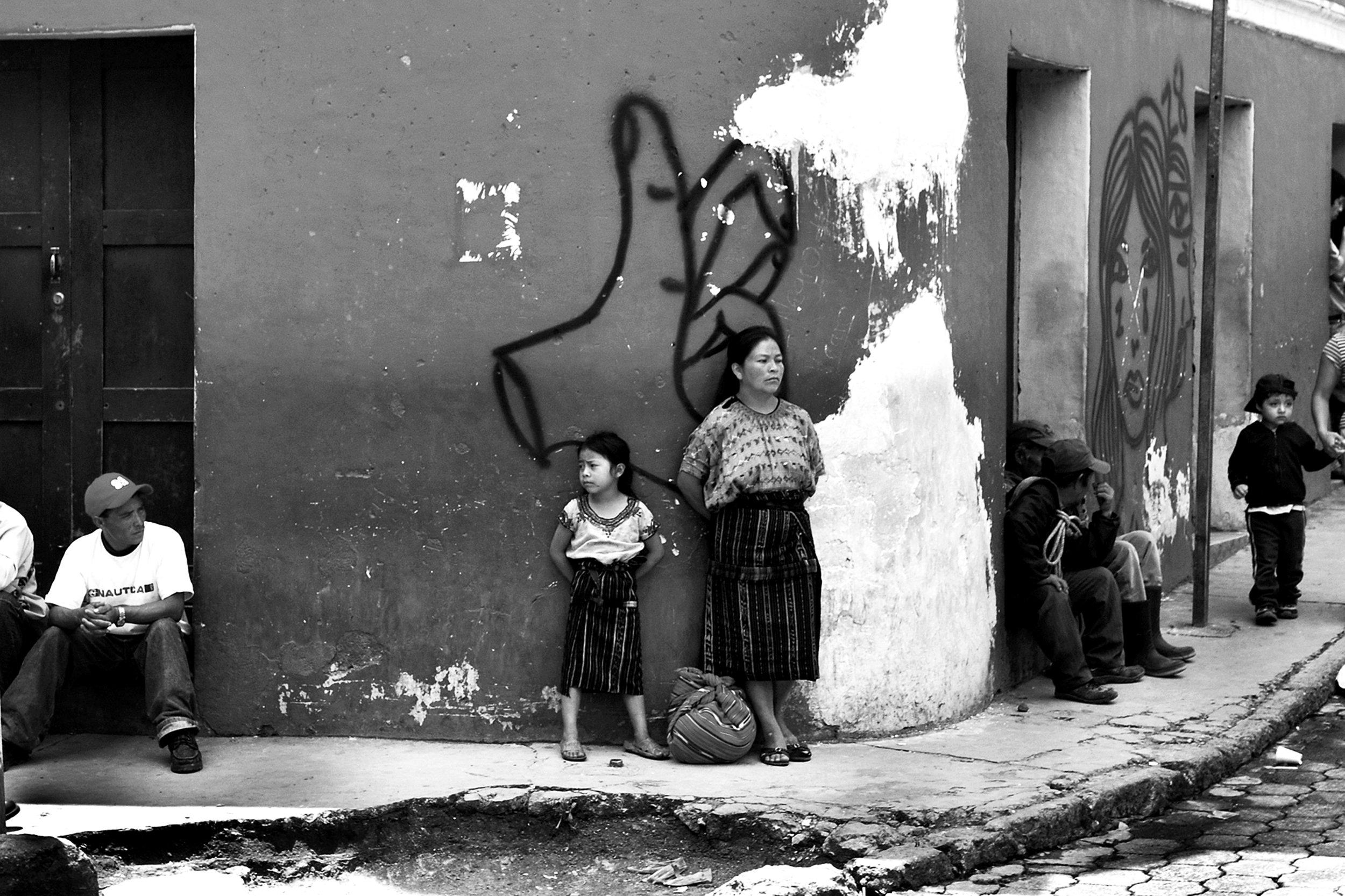 En la esquina, Guatemala