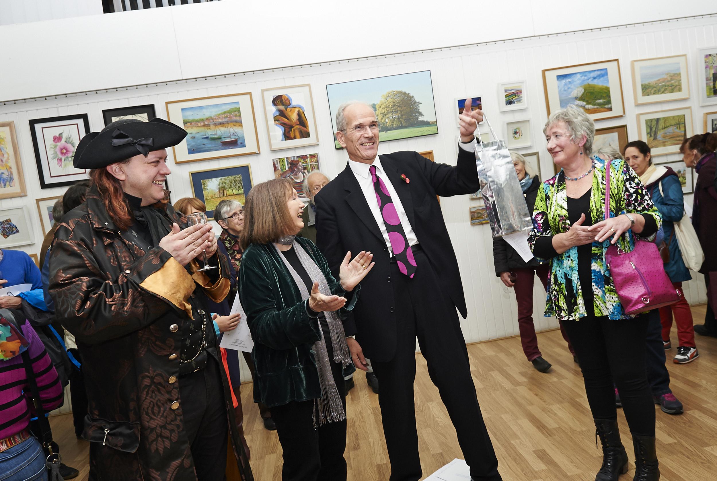 Member Robin Stevenson, chair Virginia Jackson, Sandy Nairne, director of the National Portrait Gallery and secretary Jo Pethybridge