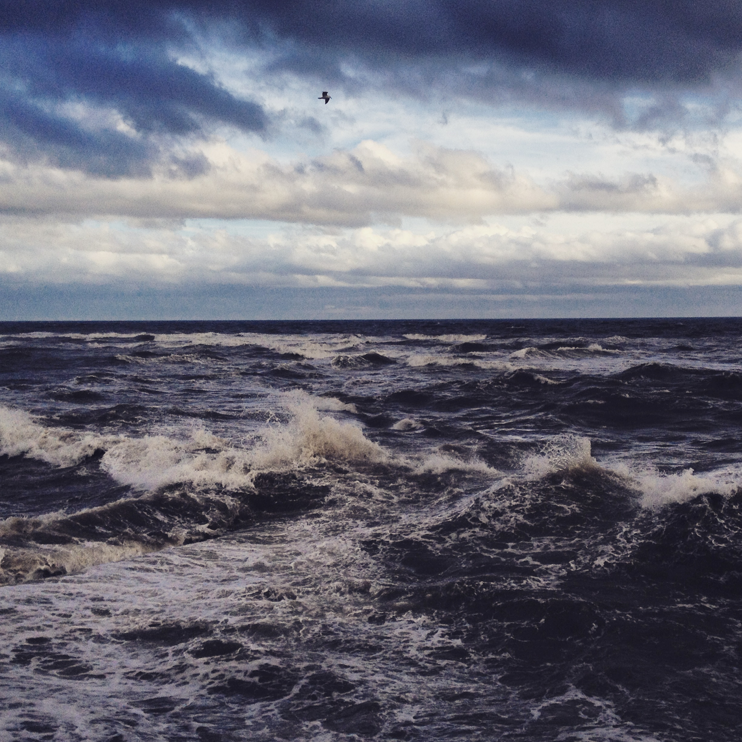 Stormy seas in Arbroath. I got in to trouble for sloping off and taking pictures whilst the waves were crashing: people were worried I had got swept away!