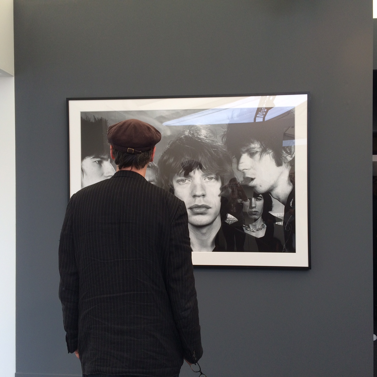 Looking at Mick