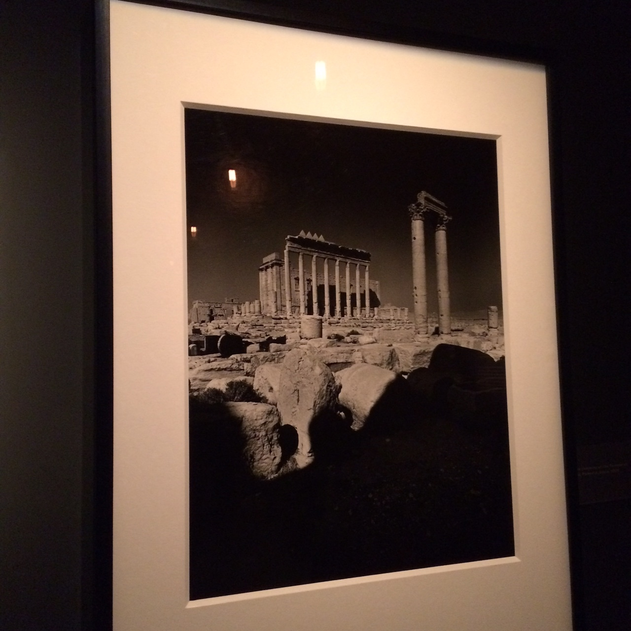 Don McCullin has more recently been photographing the fringes of the Roman Empire. He shot a series in Palmyra within the last decade, which has highlighted again, how easily history comes back to haunt us, and for me,why it is important to record our lives today. Things can change very quickly.