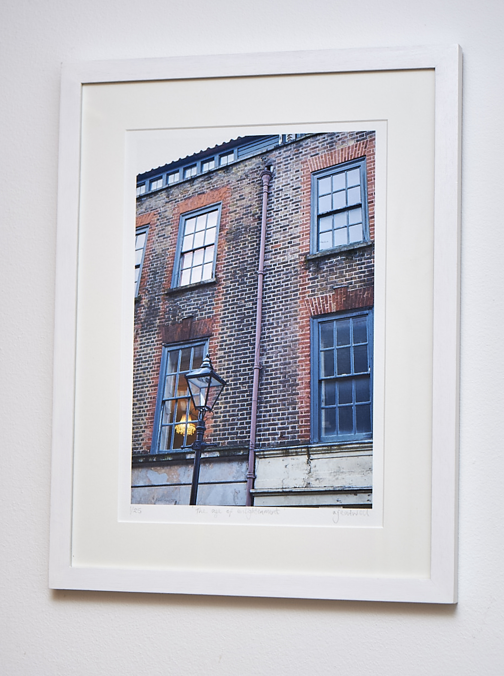 """The Age of Enlightenment   This image was originally displayed alongside a portrait of an old man (see below): something about the connection between old people and old places.  Digital Image printed on Hahnemuhle German Etching Paper.   Frame Size approx. 20 x 15""""    COST £45.00"""