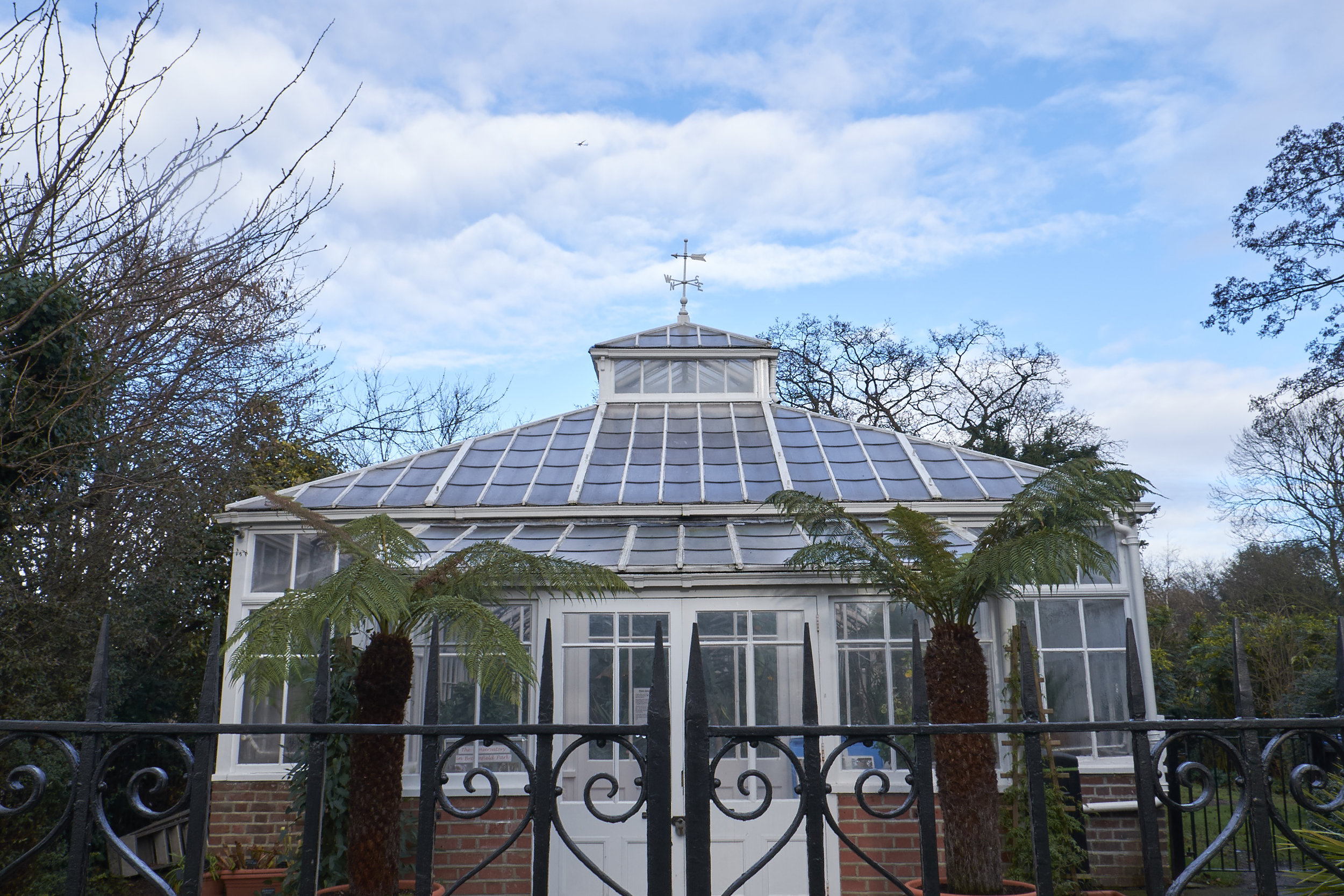 The Palm House was closed, ruining my cunning plan to warm up. Do not be fooled by the pretty picture. It was freezing!