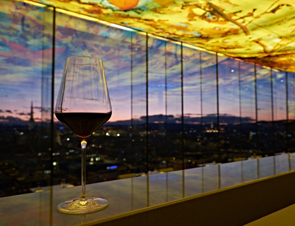 Stunning views from the rooftop bar at Hotel Sofitel