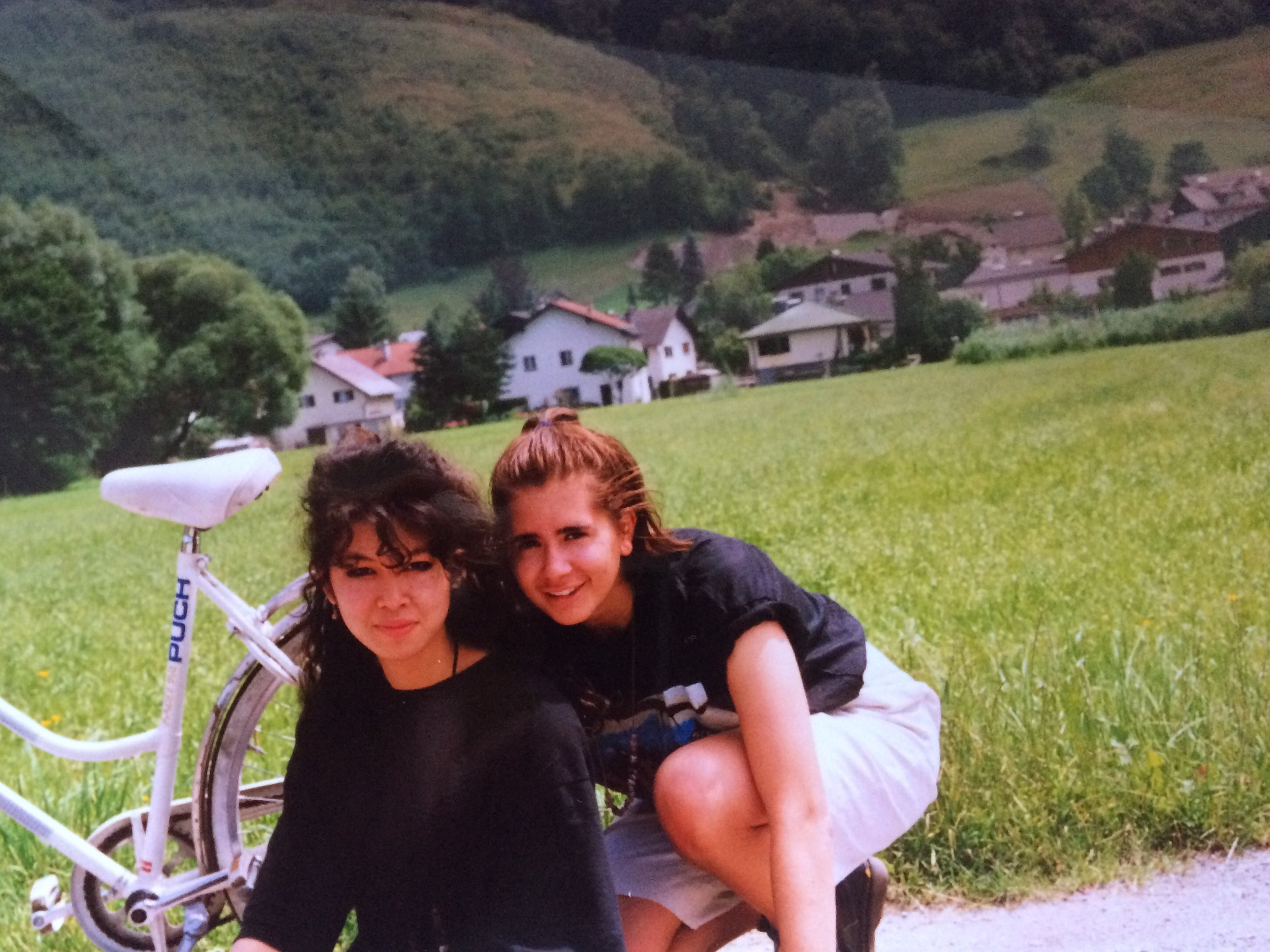 Jen and me in Austria - 1991!