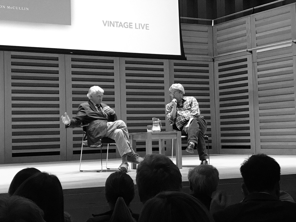 Sir Don McCullin and Fergal Keane OBE in conversation