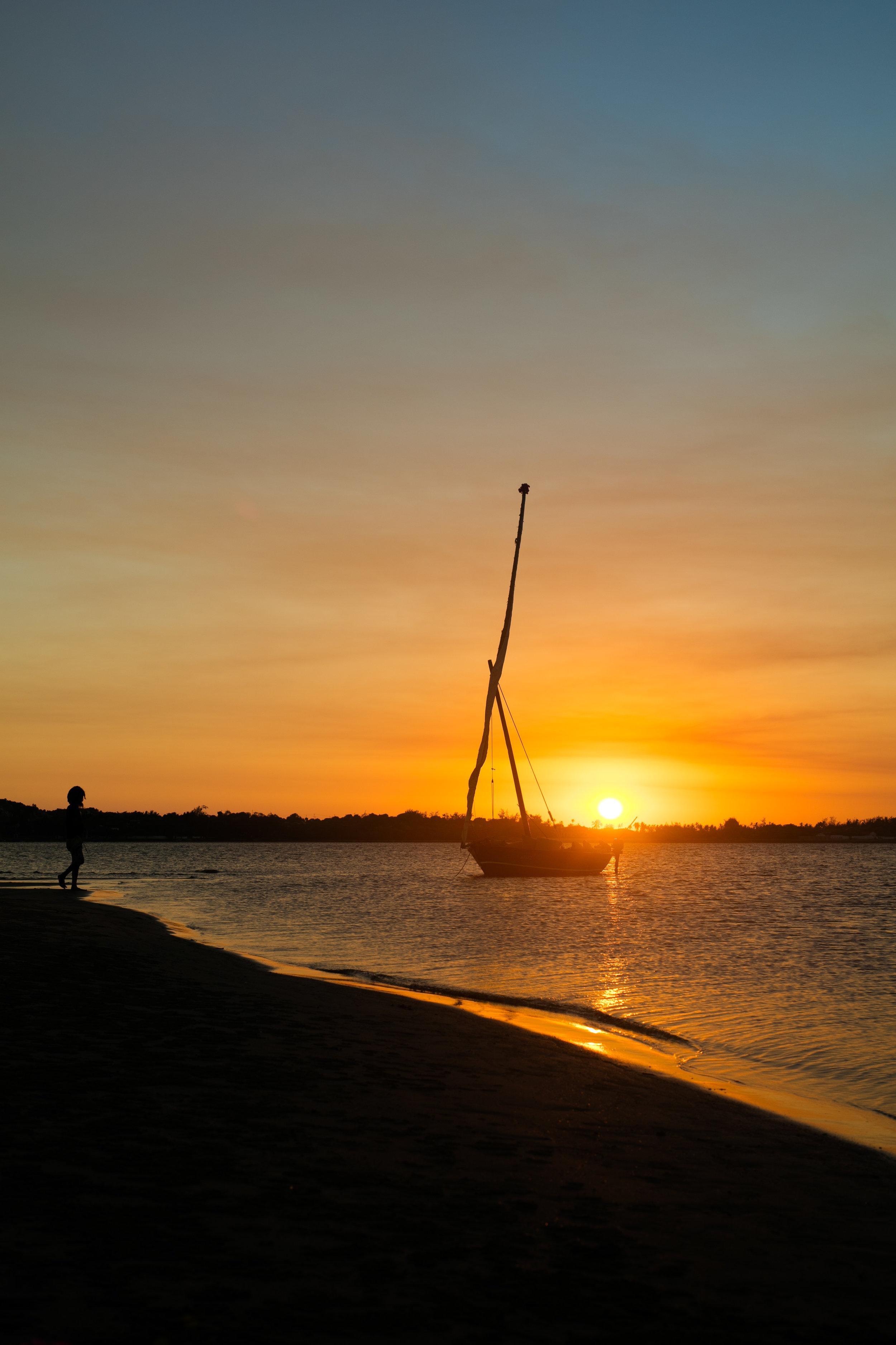 Lamu sunset