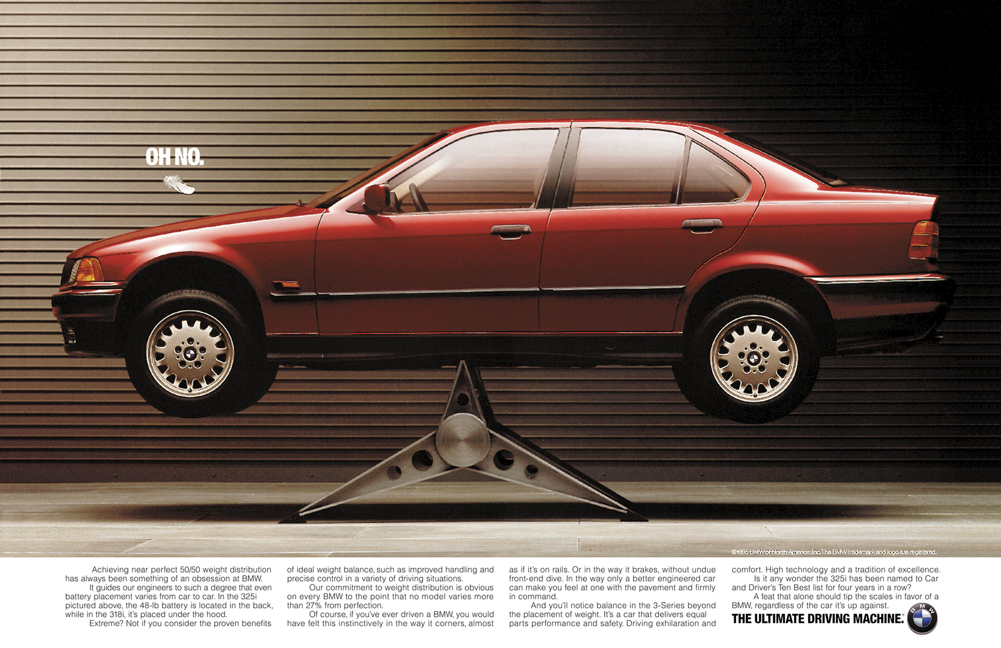 BMW 3-Series Brand Ad