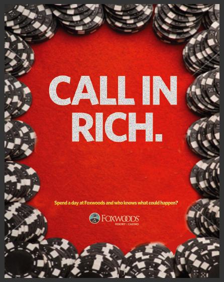 Foxwoods Casino Ad
