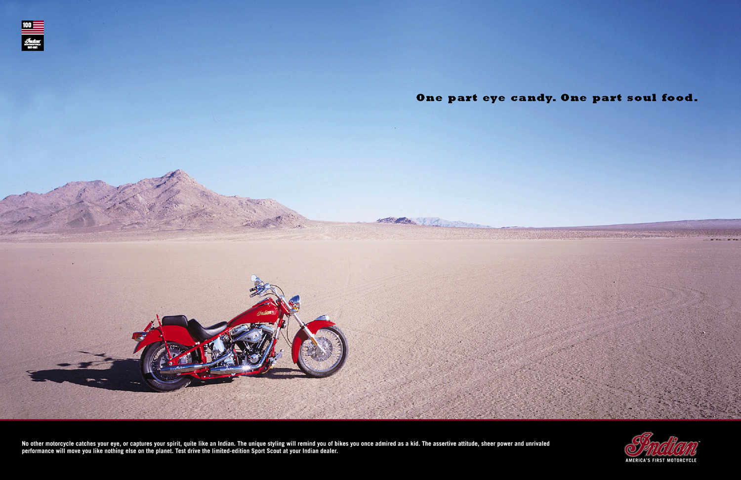 Indian Motorcycles Brand Ad