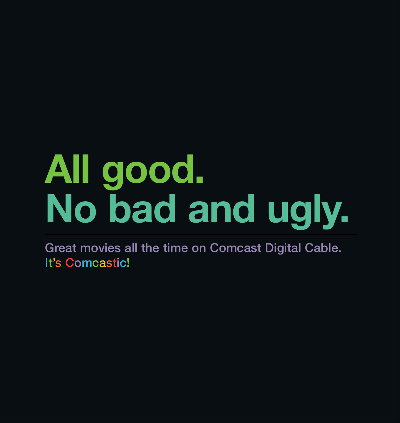 Comcast Product Ad