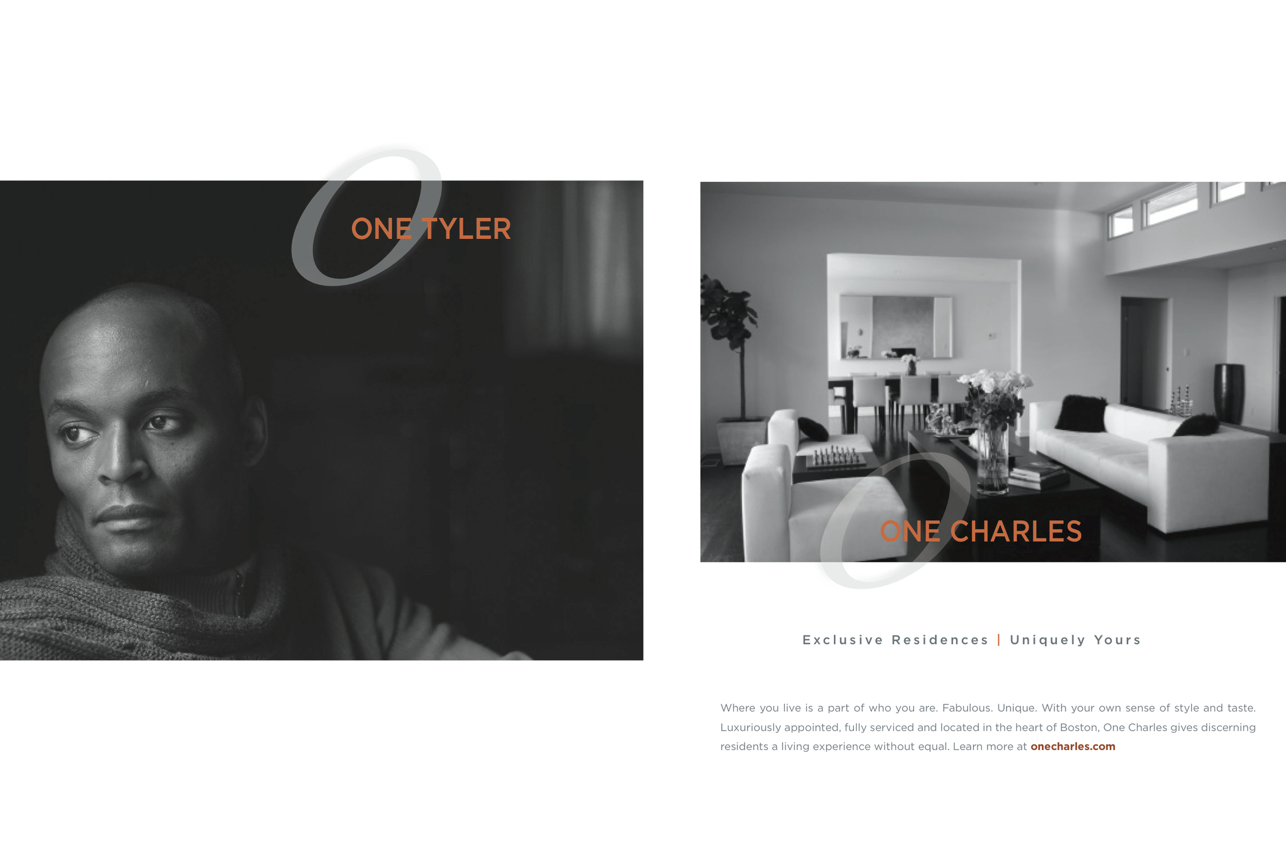 Brand Ad for One Charles, a Boston luxury residence