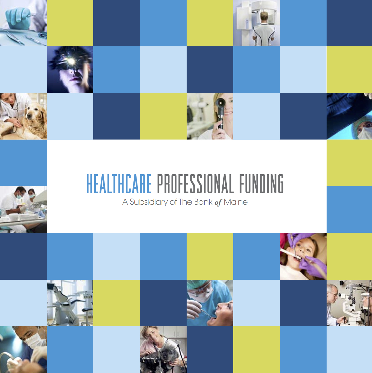Healthcare Professional Funding Brochure Cover