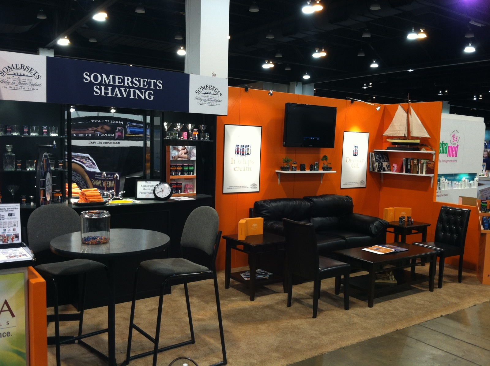 Somersets Trade Show Booth