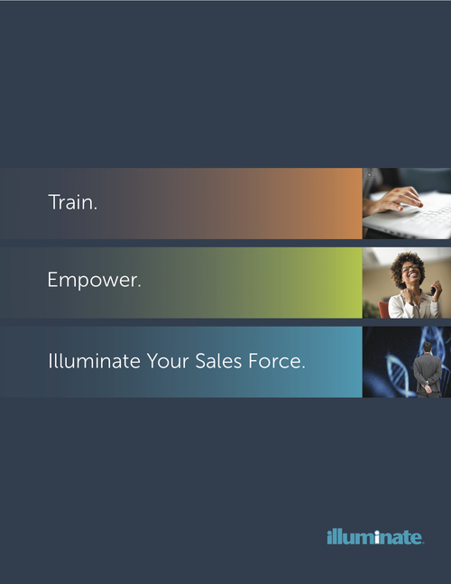 Illuminate  - Illuminate works with pharmaceutical, biotech and medical device companies to create training materials, workshops and other programs for their sales teams. We worked with their leadership to create an impactful brochure for new client prospects and trade show attendees. VIEW THE PIECE