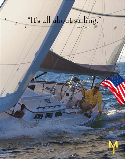 Morris Yachts  - Morris is a traditional Maine boat builder known for its magnificent semi-custom yachts. Hand-crafted to the highest standards, they are coveted by sailors the world over. VIEW THE PIECE