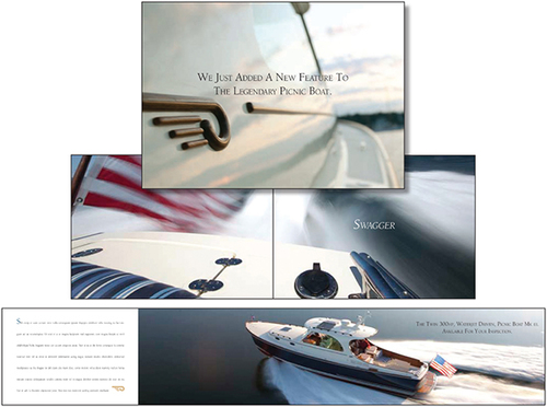 Hinckley Yachts - Hinckley is a Maine boat builder known for unsurpassed craftsmanship and beauty. We created this piece to announce the new Picnic Boat.